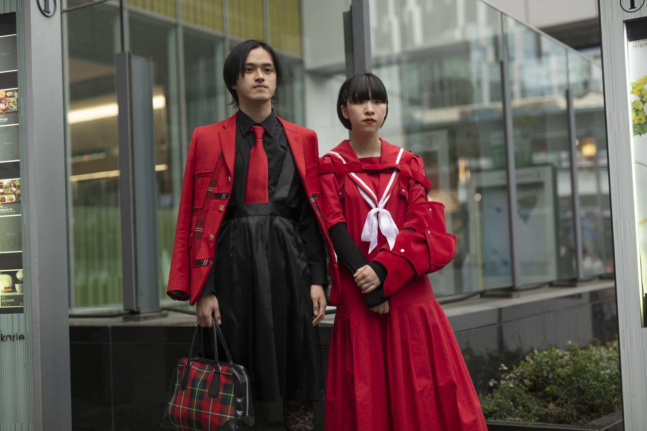 Токио стритстайл осень 2019. День 5