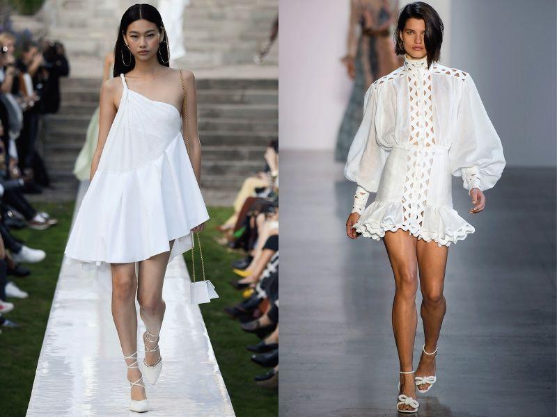 16 лучших маленьких белых платьев: Тренд 2019