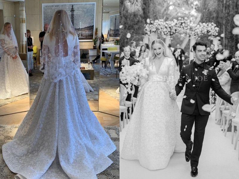 Свадебное платье Софи Тёрнер настолько невероятно, насколько мы этого хотели