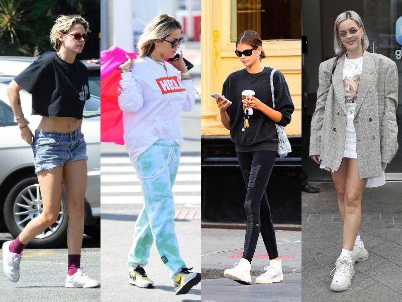 Уличный стиль знаменитостей в первую неделю осени