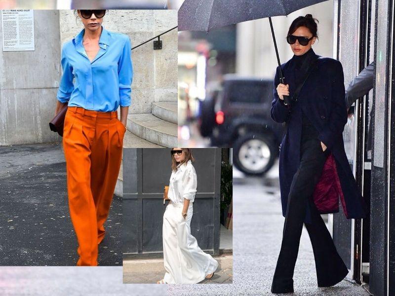 Как повторить уличный стиль Виктории Бекхэм?