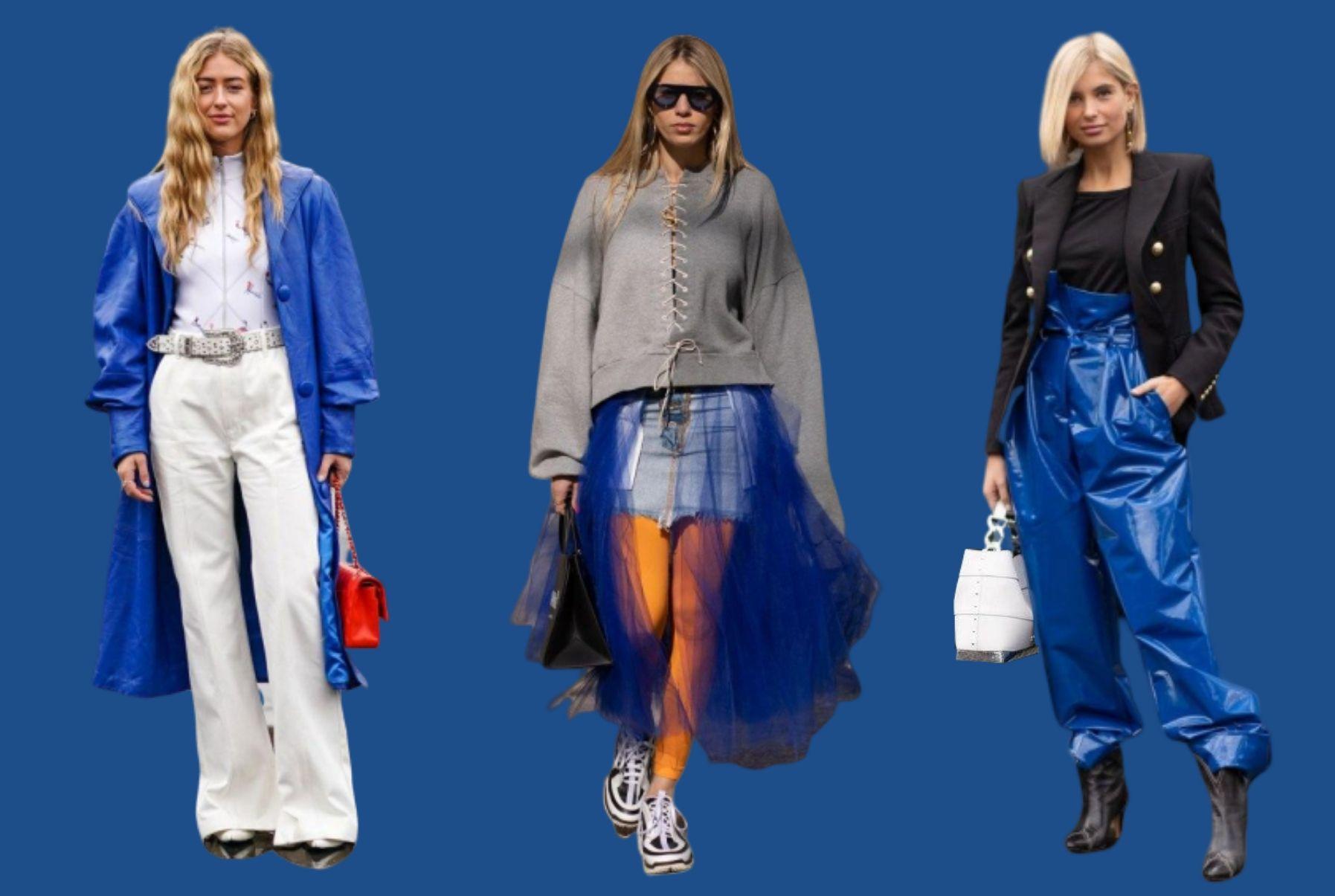 Как стилизовать классический синий - Главный цвет 2020 года по версии Pantone