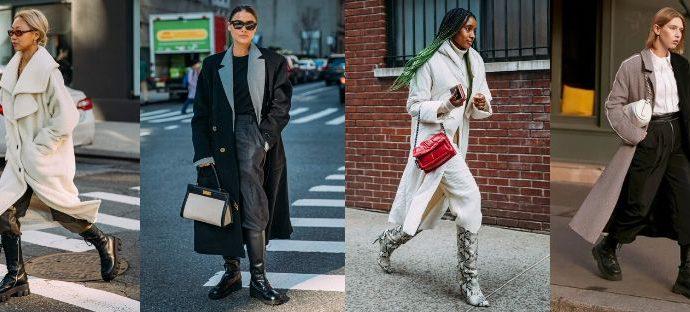 Почему заправлять брюки в сапоги - это крутой трюк в этом сезоне. Тренды уличного стиля 2020