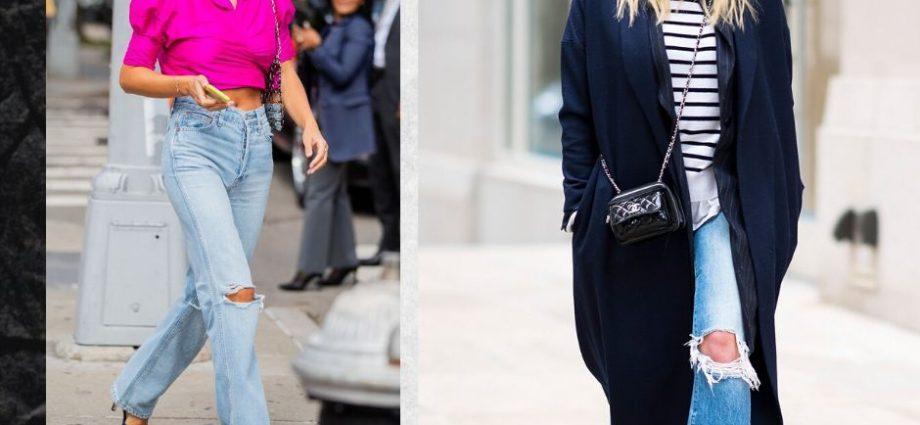 28 идей для стильных образов с рваными джинсами для копирования в 2020 году.