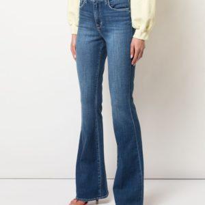 Расклешенные джинсы с завышенной талией L'AGENCE