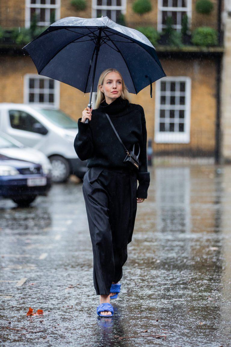 Street Style лондонской недели моды 2020. Хорошая доза вдохновения для создания стильных образов, даже когда погода серая и дождливая.