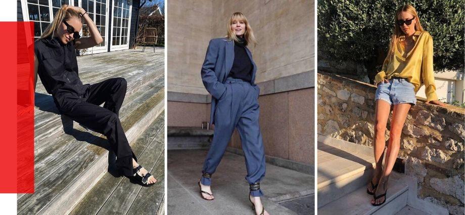 Модная обувь — лето 2020: 6 главных трендов уличного стиля.