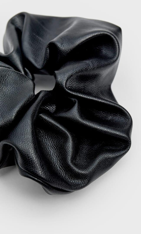 Набор Из 3 Резинок Для Волос, Из Искусственной Кожи Женская Коллекция Черный 103