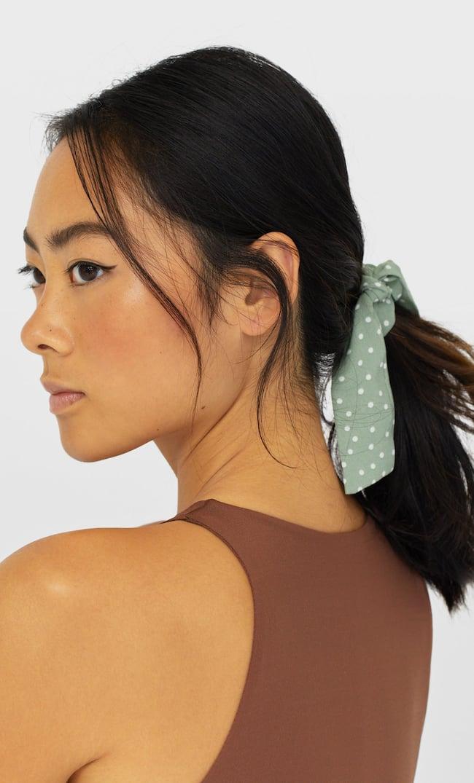 Набор Из 3 Резинок Для Волос В Горошек Женская Коллекция Multicolor 103