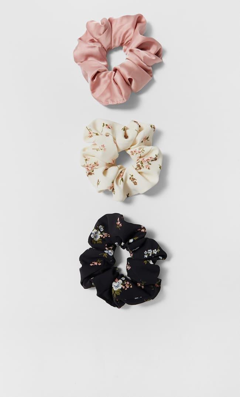 Набор Из 3 Резинок Для Волос Женская Коллекция Черный 103
