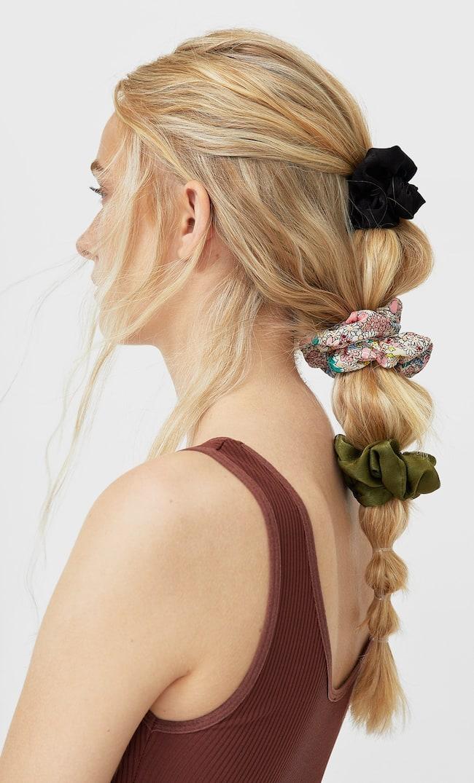 Набор Из 3 Резинок Для Волос Женская Коллекция Multicolor 103