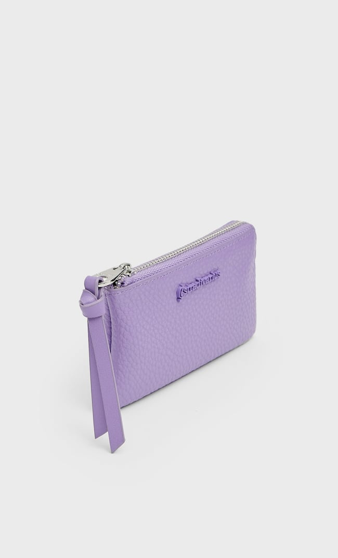 Базовый Кошелек Женская Коллекция Пурпурный 103
