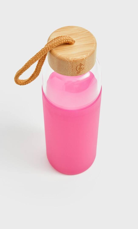 Бутылка Из Силикона Женская Коллекция Цвет Фуксии 103