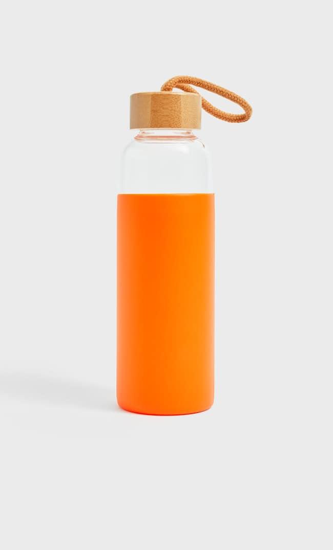 Бутылка Из Силикона Женская Коллекция Оранжевый 103