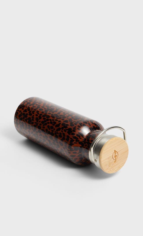 Бутылка Из Металла С Принтом Женская Коллекция Коричневый 103