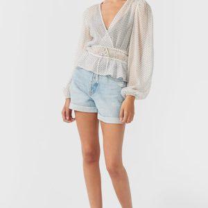 Блуза С Вышивкой Плюмети Женская Коллекция Multicolor L