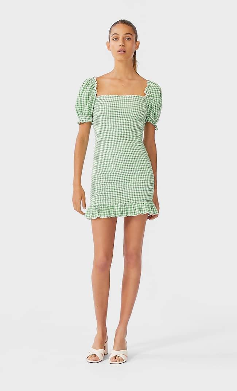 Короткое Платье Облегающего Кроя Женская Коллекция Multicolor S