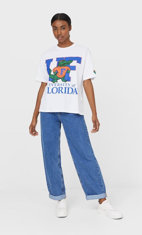 Футболка University Of Florida Женская Коллекция Белый M