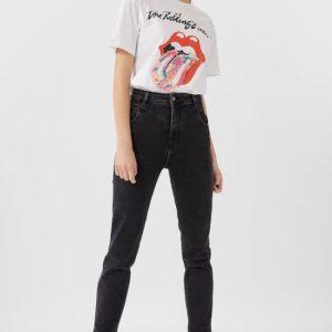 Футболка The Rolling Stones Женская Коллекция Белый Xs