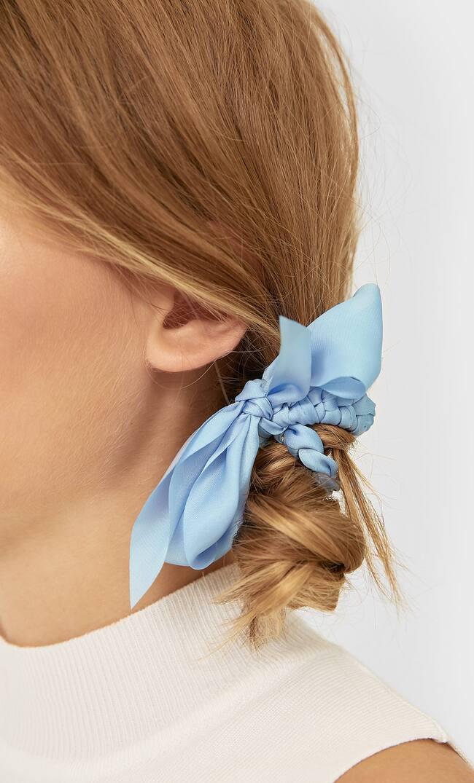 Набор Из 3 Плетеных Резинок Для Волос Женская Коллекция Черный 103