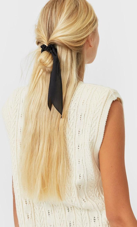 Набор Из 3 Плетеных Резинок Для Волос Женская Коллекция Цвет Небеленого Полотна 103