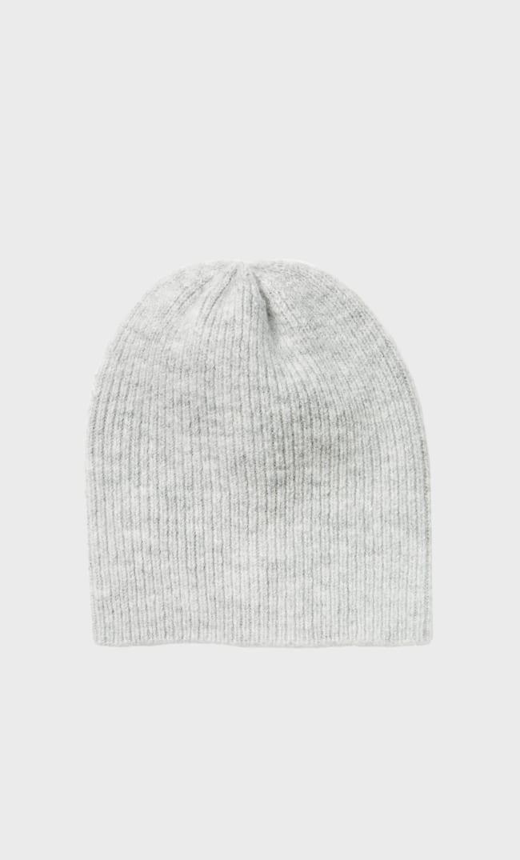 Базовая Шапка Из Трикотажа Плотной Вязки Женская Коллекция Серый 103