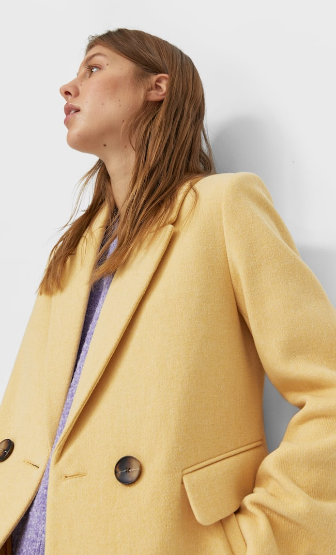 Базовое Пальто Женская Коллекция Multicolor S