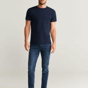 Повседневная хлопковая футболка - Cherlo6