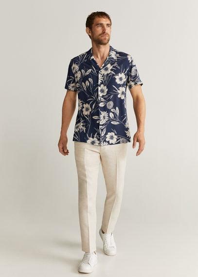 Рубашка с гавайским принтом - Sul