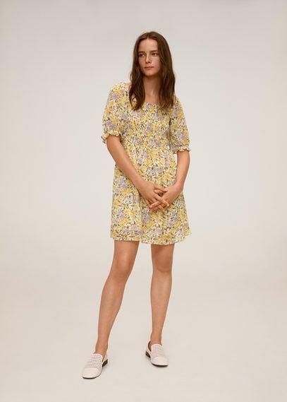 Платье с цветочным принтом - Nicole