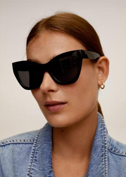 Солнцезащитные очки в пластиковой оправе - Pia