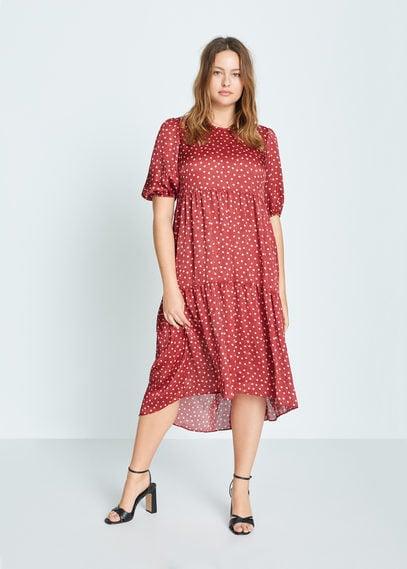 Платье в горошек с воланами - Romeo-i