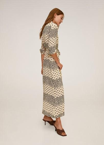 Платье-рубашка в горошек - Berta-a