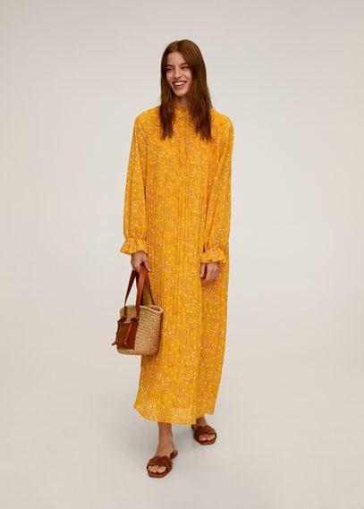Платье с принтом пейсли - Momoa-a