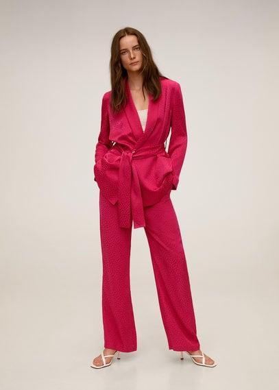 Прямые костюмные брюки - Pinky