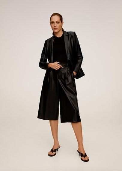 Структурированный пиджак с карманами - Matata
