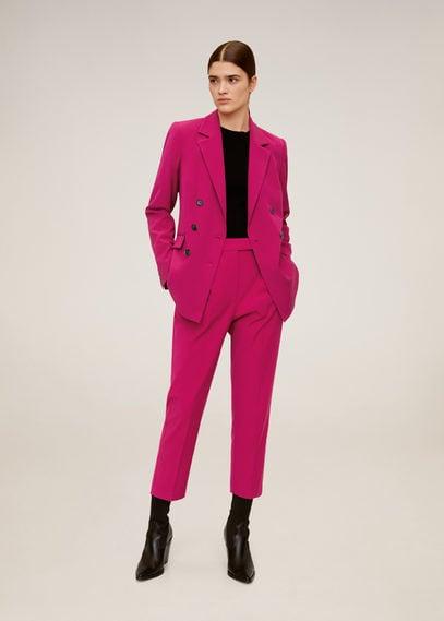 Укороченные брюки с защипами - Melchor