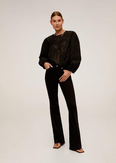 Ажурная блузка - Saray