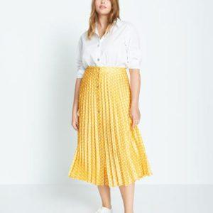 Плиссированная юбка в горошек - Romeo