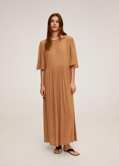 Платье с жемчужинами на горловине - Carmen-a