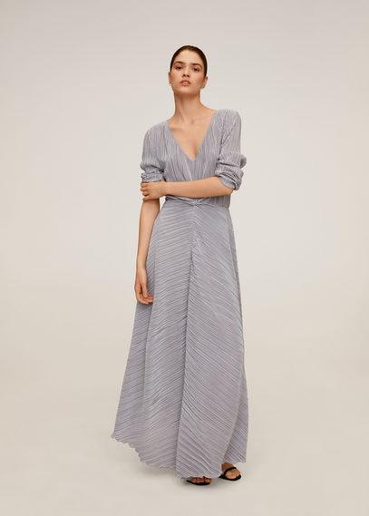 Длинное плиссированное платье - Zafiro-a