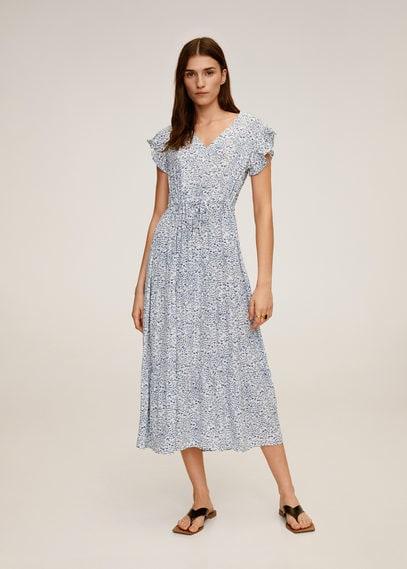 Миди-платье с цветочным принтом - Lola