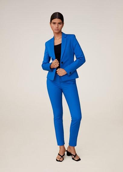 Костюмные брюки-дудочки - Cofi6-n