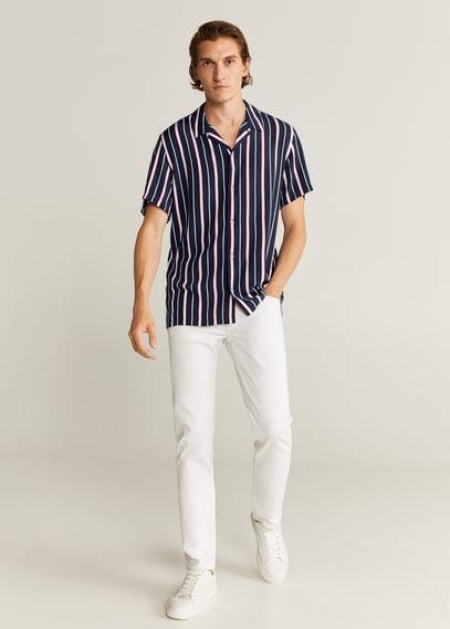 Рубашка regular-fit в полоску - Teka