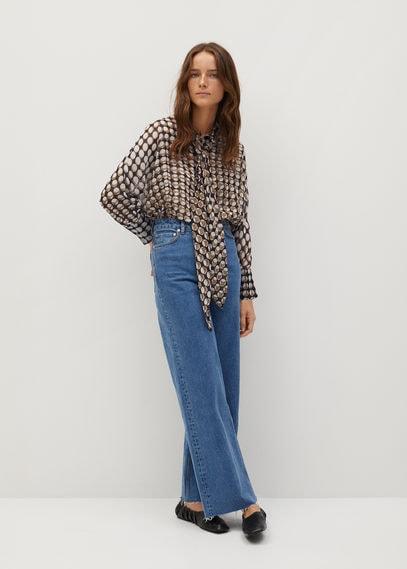 Блузка с геометрическим принтом - Vittoria