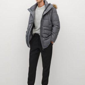 Непромокаемое пальто с капюшоном - Noriega