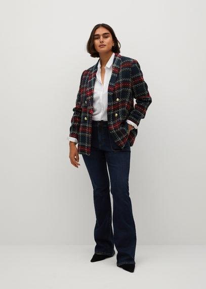 Твидовый пиджак с пуговицами - Koki
