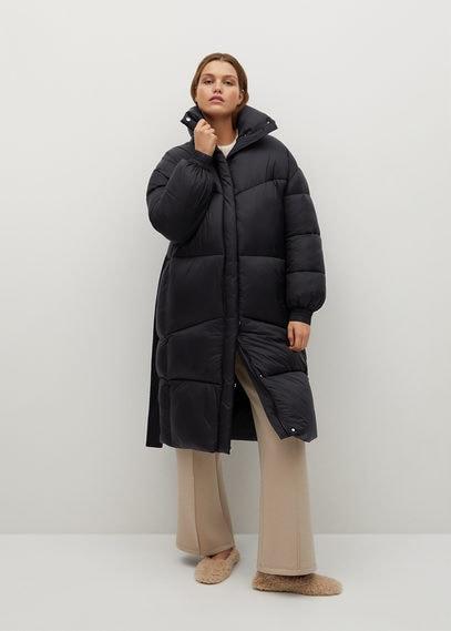 Объемное стеганое пальто - Lalo