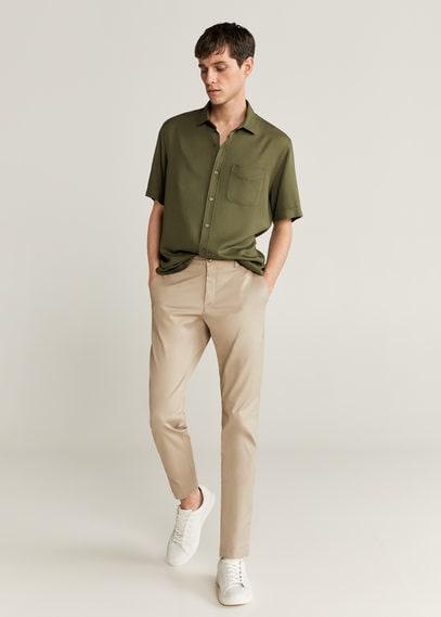 Струящаяся рубашка regular fit - Toledo