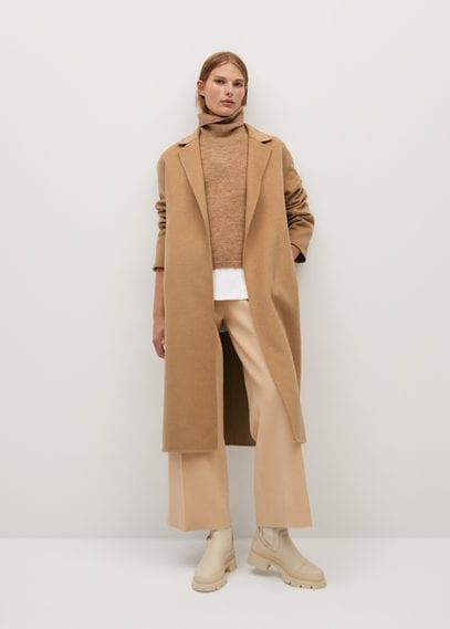Шерстяное пальто ручной работы - Batin